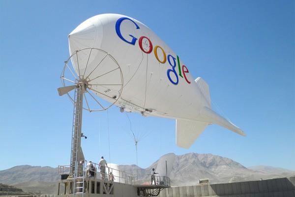 Дирижабли от Google для всеобщего доступа в Интернет