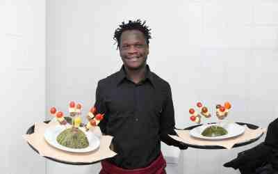 Jamal: «Me gusta Novaterra y me gusta cocinar»