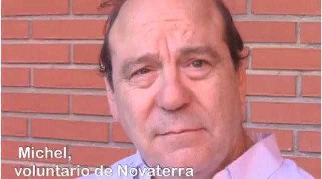 """Michel Henric-Coll, voluntario de Novaterra: """"Novaterra es para mí Humanidad"""""""