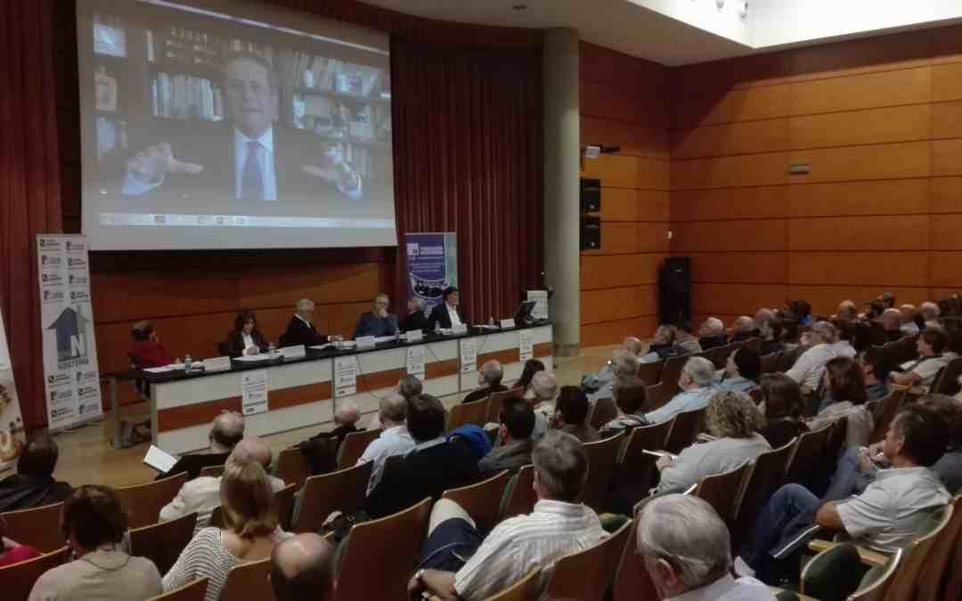 "Federico Mayor Zaragozá: ""No podemos seguir de espectadores impasibles ante una Europa insolidaria"""