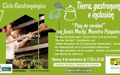 """[4 nov.] Taller """"Pan de verdad"""" con Jesús Machí"""