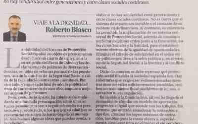 Roberto Blasco «Apuntes para la sostenibilidad de la Seguridad Social»