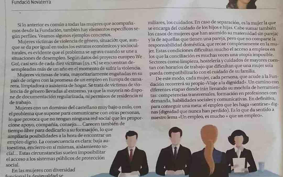 Reme Morales: «Las mujeres y su exclusión del mundo laboral»