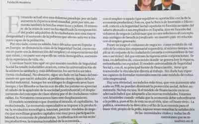 «Por un nuevo paradigma de la Seguridad Social», Carmen Collado y Roberto Blasco