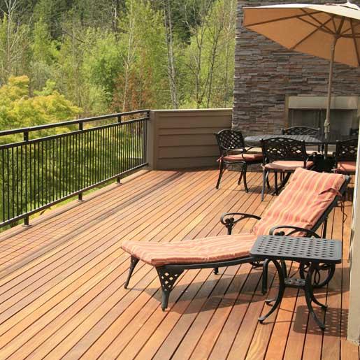 rooftop deck construction