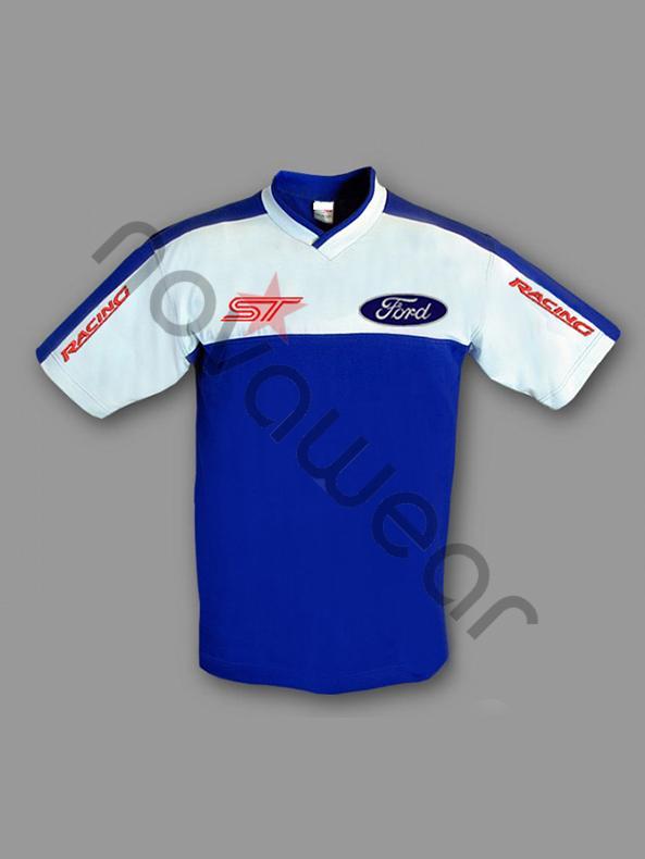 Ford ST TShirt BlueFord Clothing Ford ST Merchandise