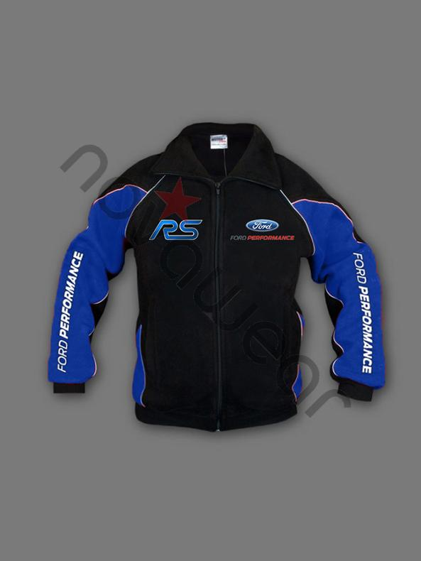 Ford RS Fleece Jacket BlackFord Clothing Ford RS Merchandise