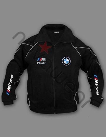 BMW M Power Fleece Jacket BlackBMW Accessories BMW Clothing
