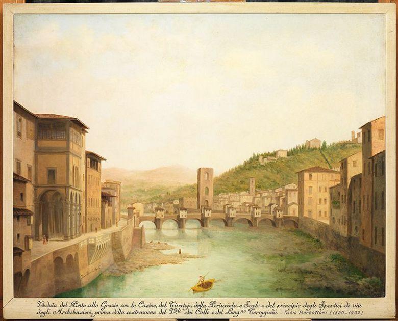 La Firenze che fu nelle vedute ottocentesche di Fabio Borbottoni  Nove da Firenze