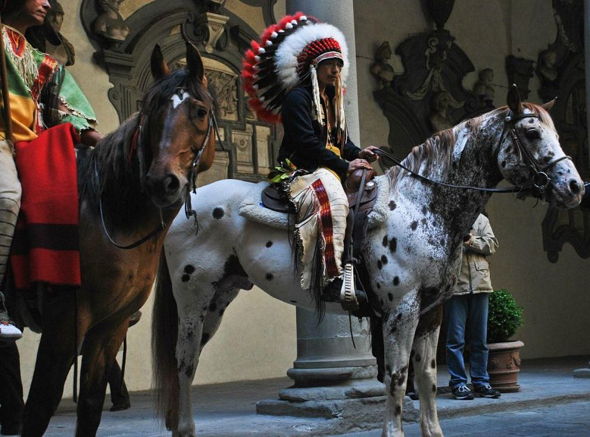 Il popolo Lakota Sioux a Firenze  Cultura Foto