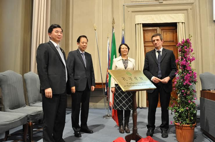 Universit di Firenze nasce Istituto Confucio per lingua e cultura cinese  Nove da Firenze