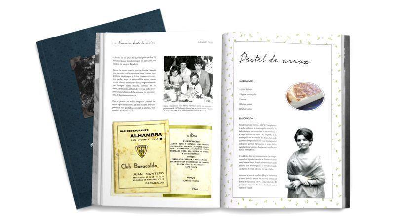 5 pasos para preparar tu propio libro de recetas de familia