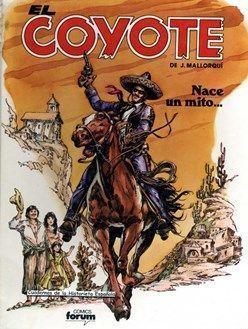 Comic mensual El Coyote – Forum 1983