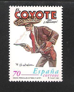 Sello de Correos del Coyote