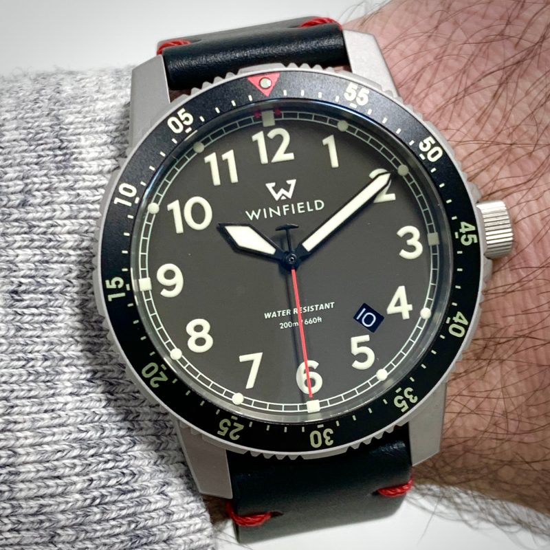 Winfield Mission Timer One Wrist Shot Photo