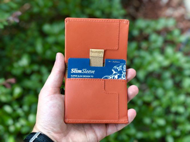 Bellroy Slim Sleeve, Orange, Slim Wallet Bifold