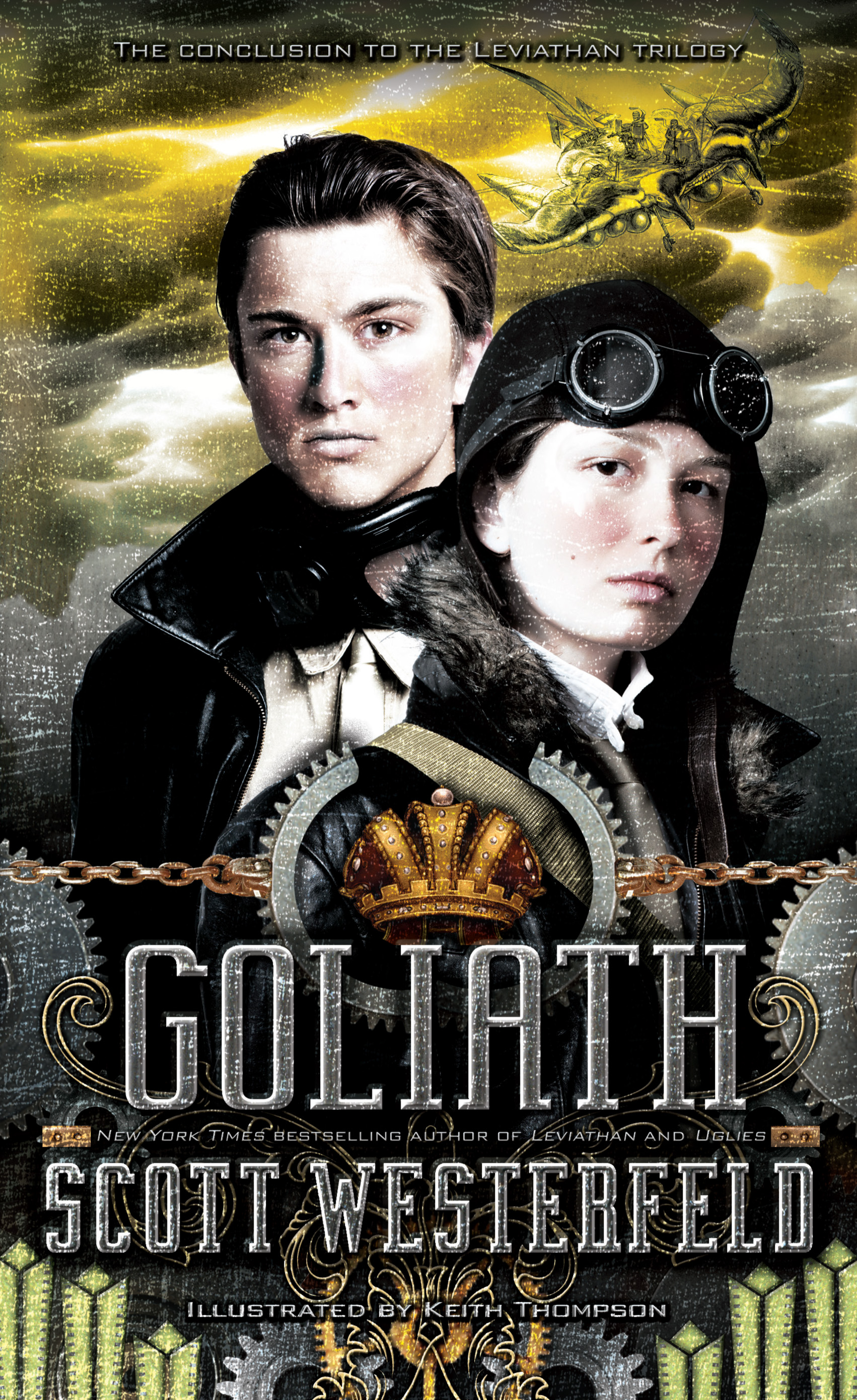 Review – Goliath by Scott Westerfeld