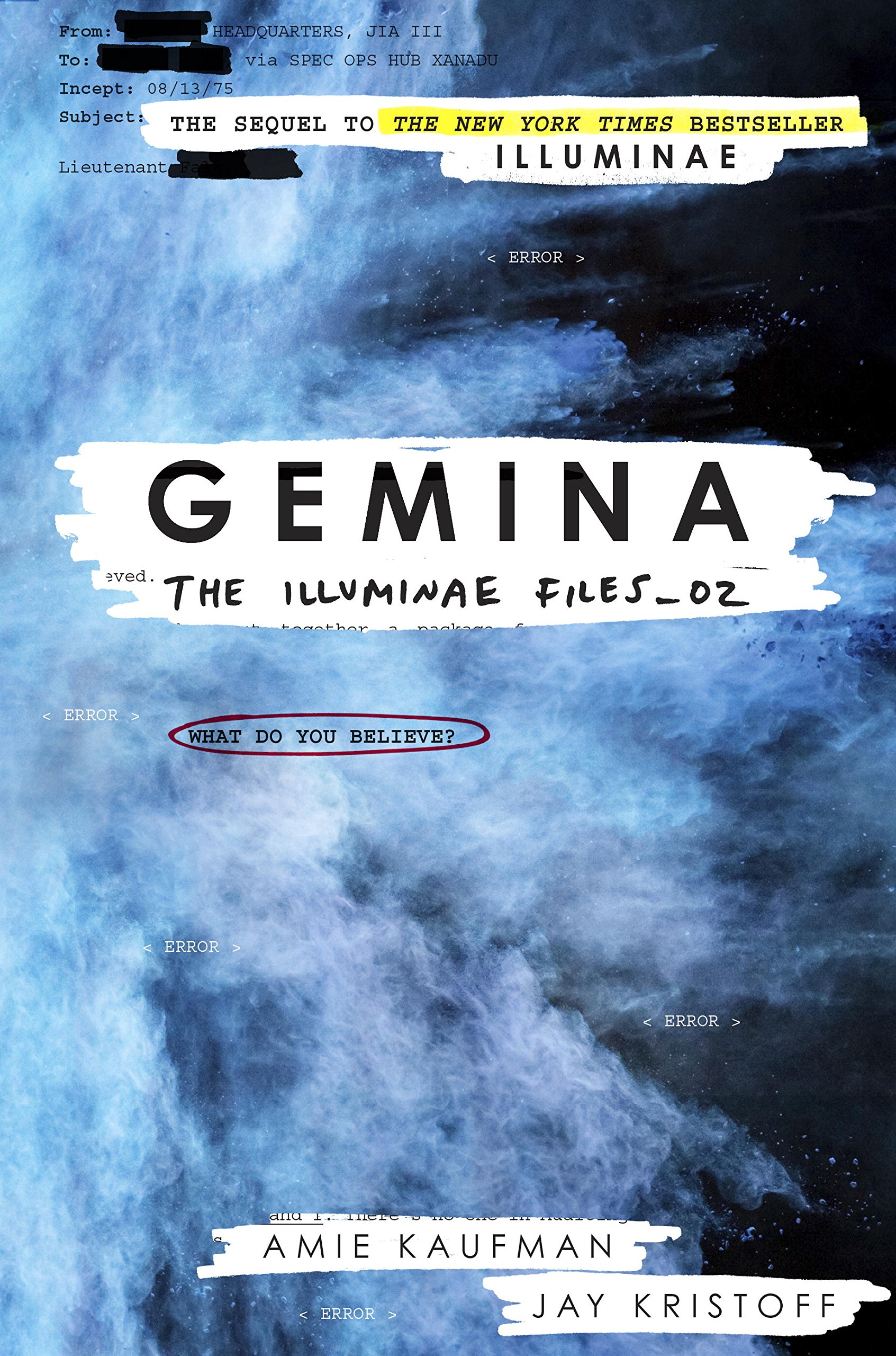 Review – Gemina by Amie Kaufman & Jay Kristoff
