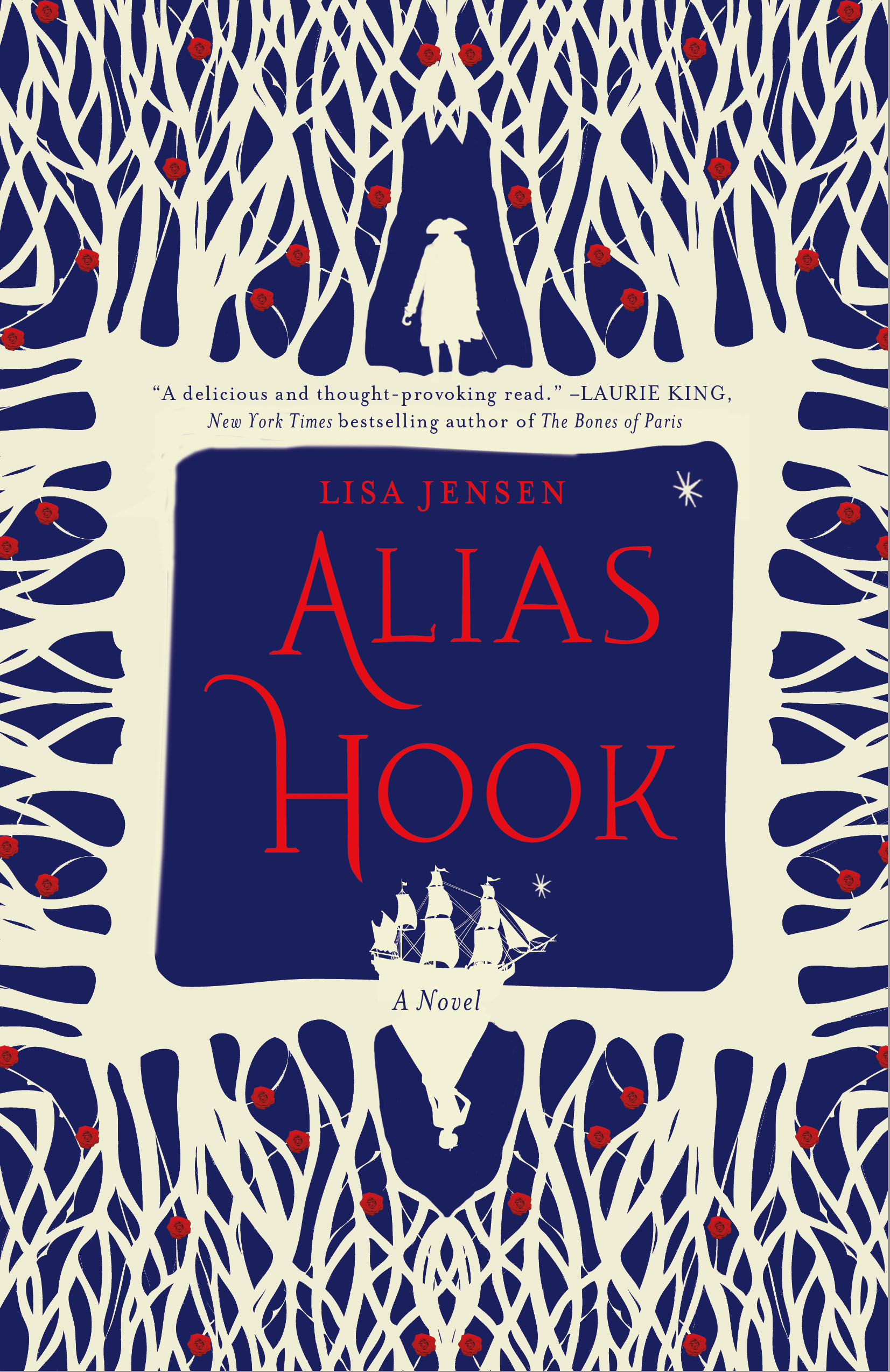 Review – Alias Hook by Lisa Jensen