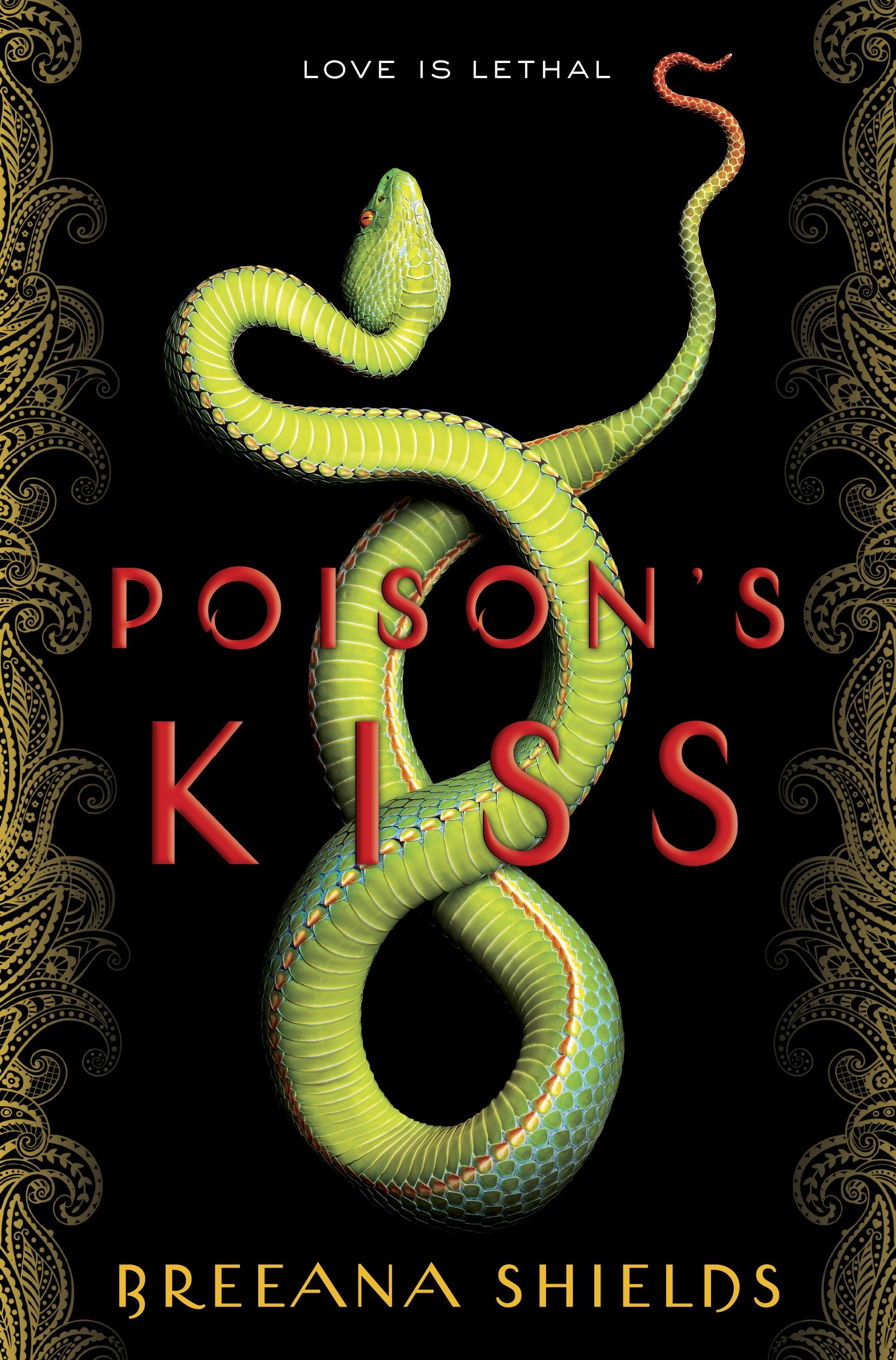 Review – Poison's Kiss by Breeana Shields