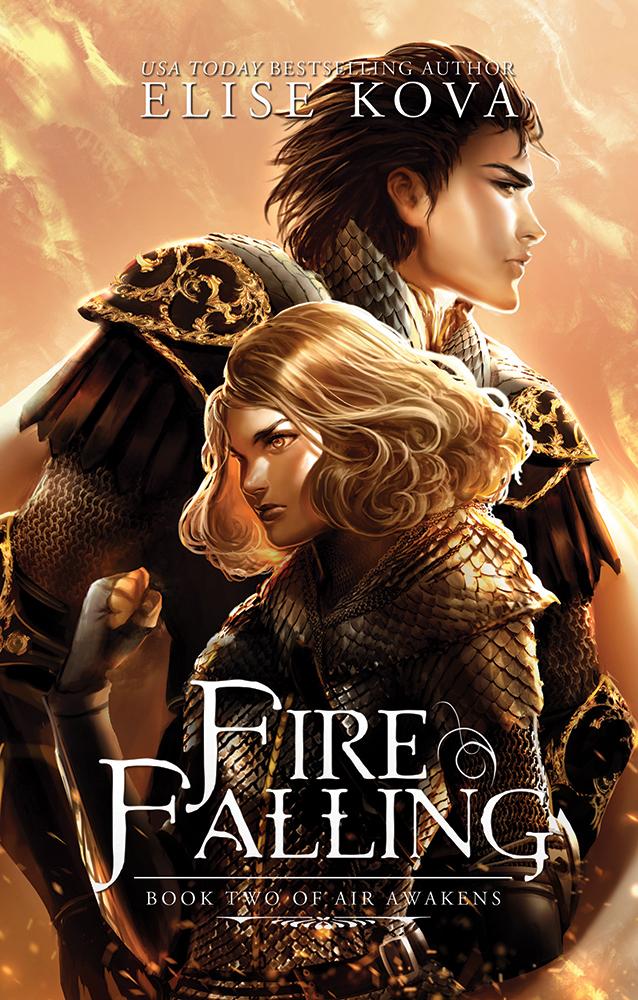 Review – Fire Falling by Elise Kova