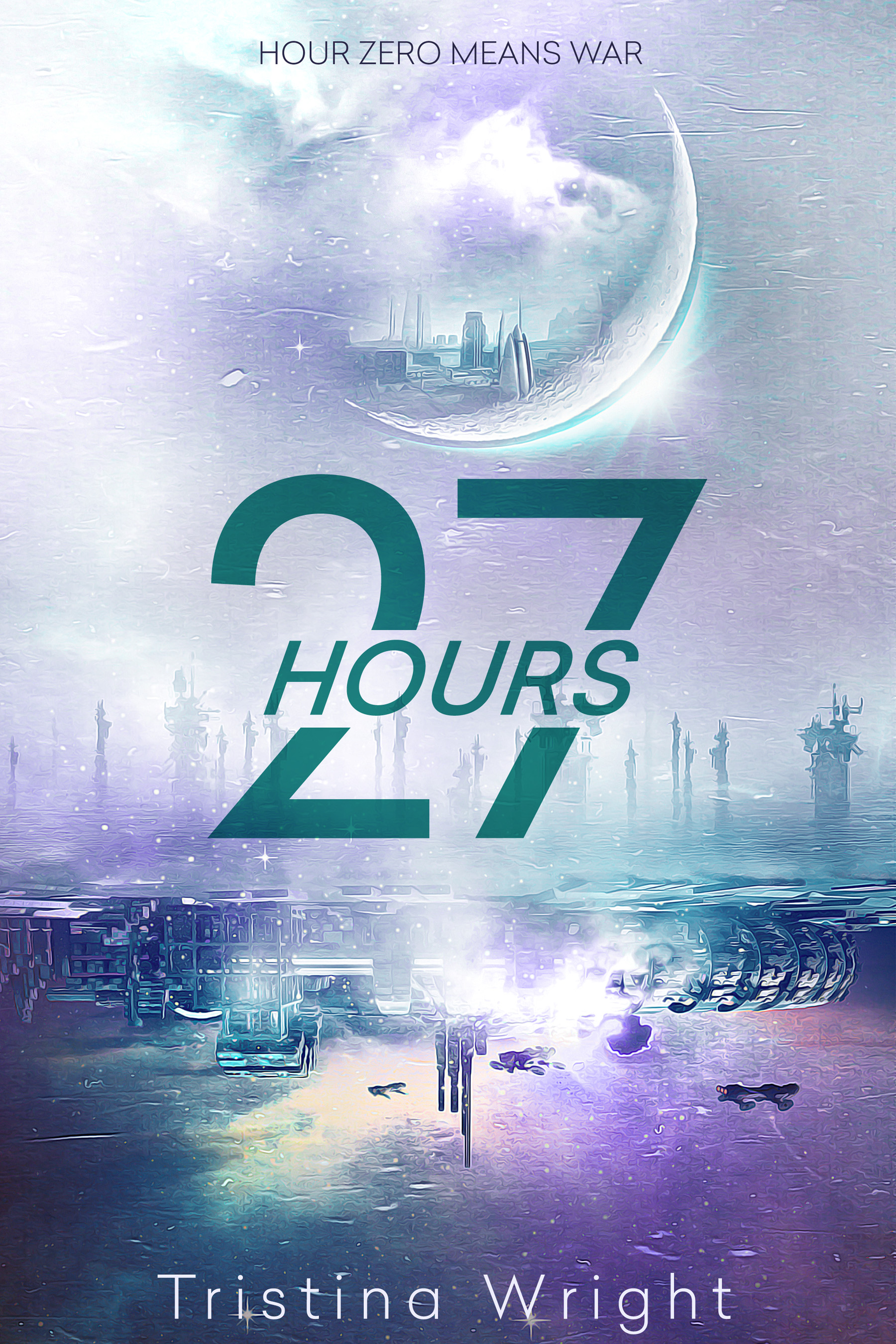 Cover Reveal – 27 Hours by Tristina Wright