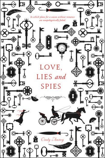Review – Love, Lies and Spies by Cindy Anstey