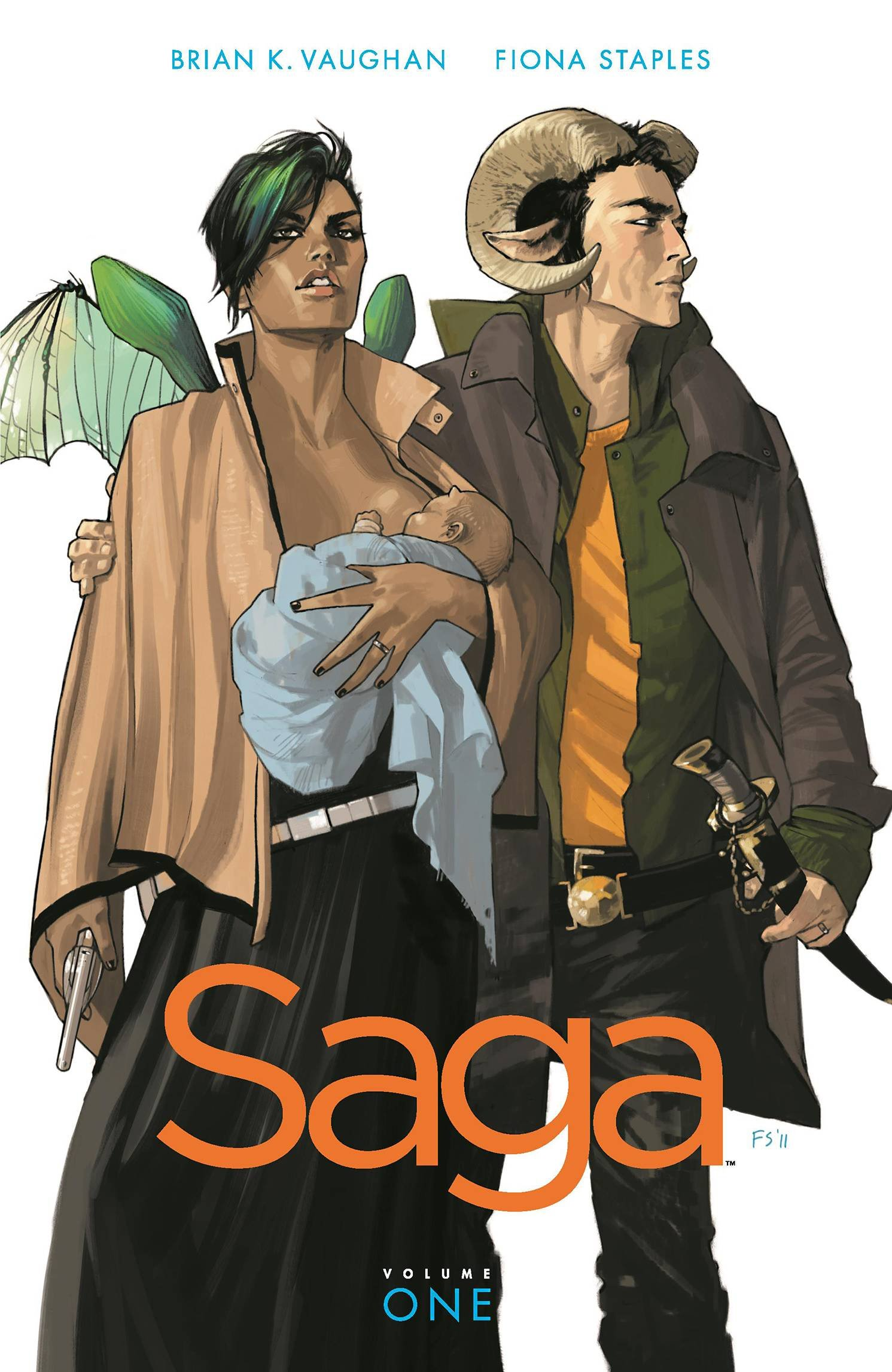 Review – Saga, Vol. 1 by Brian K. Vaughan & Fiona Staples