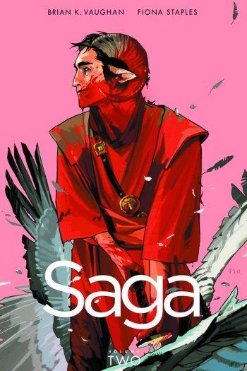 Review – Saga, Vol. 2 by Brian K Vaughan & Fiona Staples