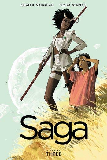 Mini Review – Saga, Vol. 3 by Brian K. Vaughan & Fiona Staples