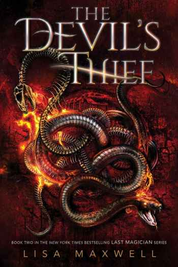 Thieves and Mageus and Stones, Oh My! | The Devil's Thief by Lisa Maxwell (+ Giveaway!)