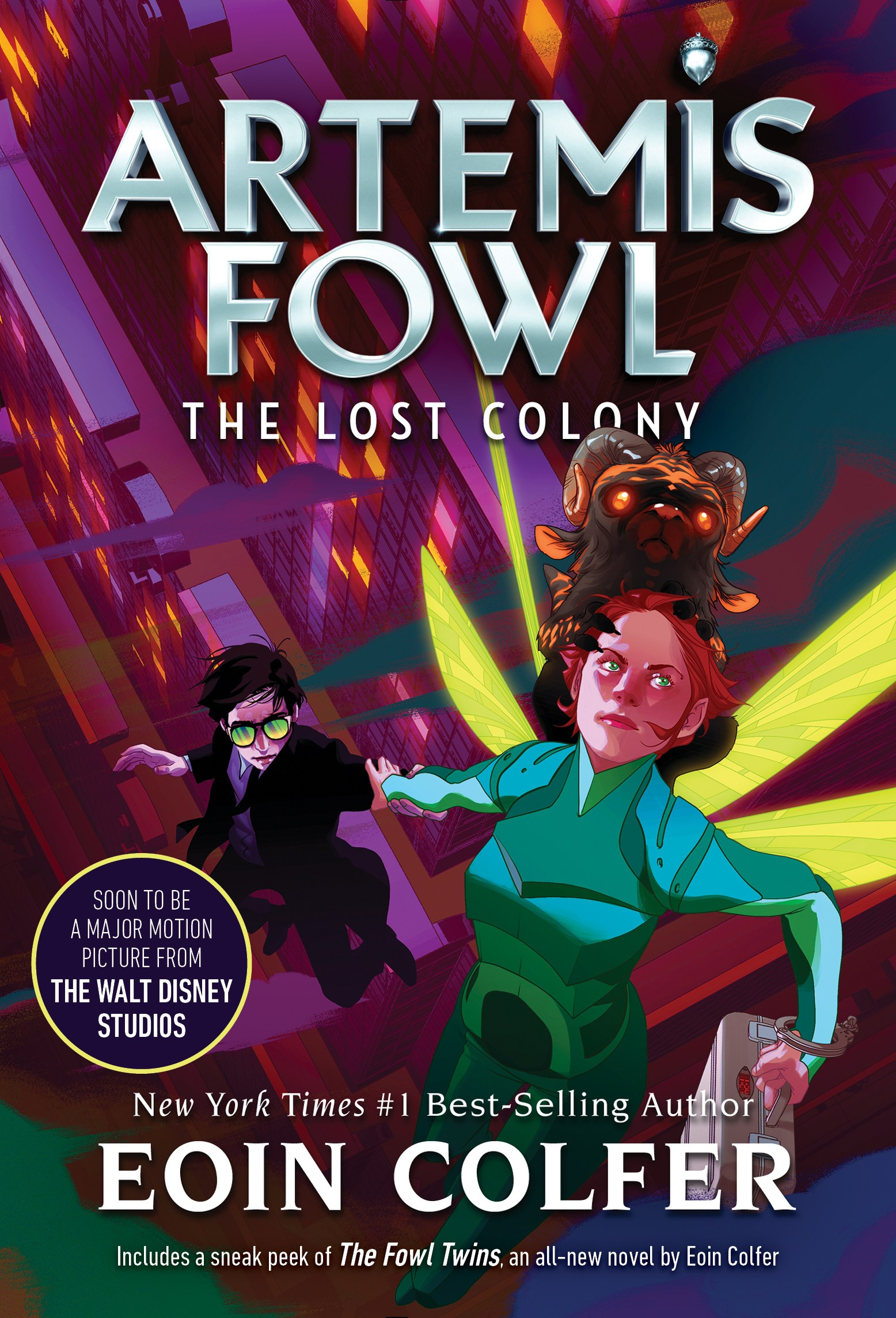 Re-Read Review | The Lost Colony by Artemis Fowl