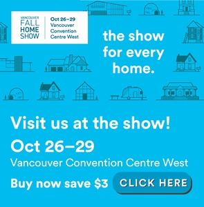 Vancouver Fall Home Show Tickets