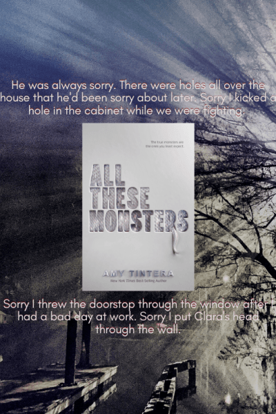 All These Monsters by Amy Tintera