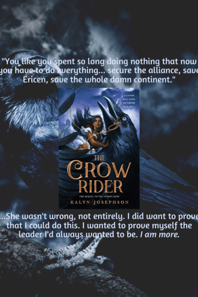Crow Rider By Kalyn Josephson