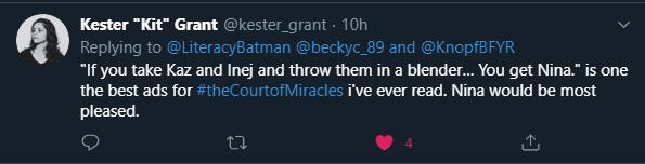 Kester Grant Quote