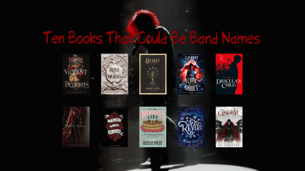 Book Titles That Could Be Band Names