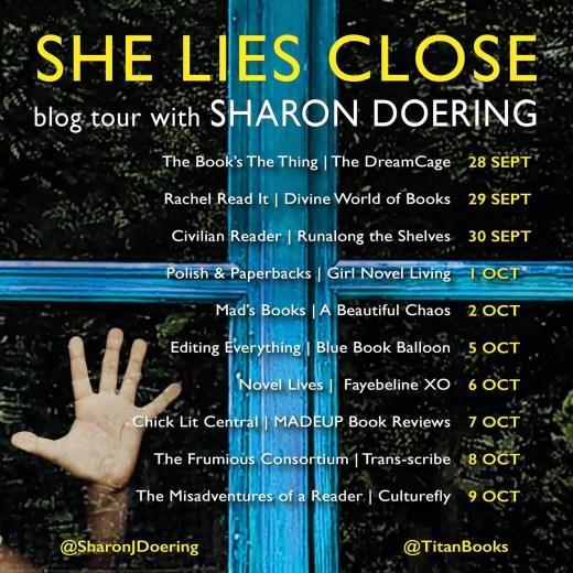 She Lies Close Blog Tour