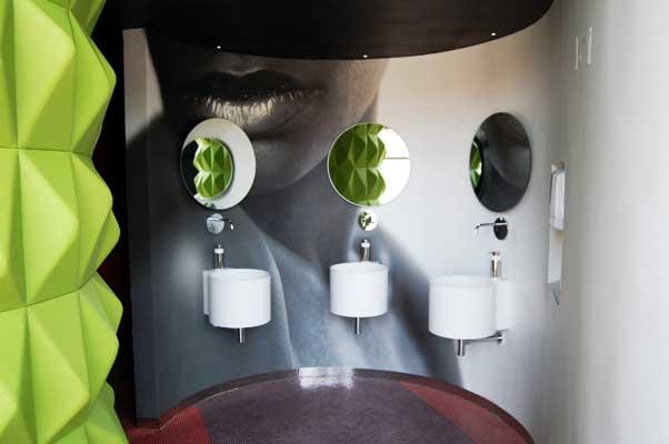 Lavabos Hotel Diseño