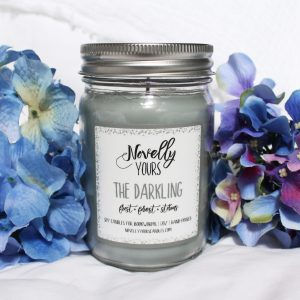 The Darkling | 12oz jar | Grisha Trilogy inspired soy candle