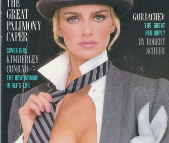Image For Playboy Magazine Entertainment For Men August 1988 Kimberly Conrad