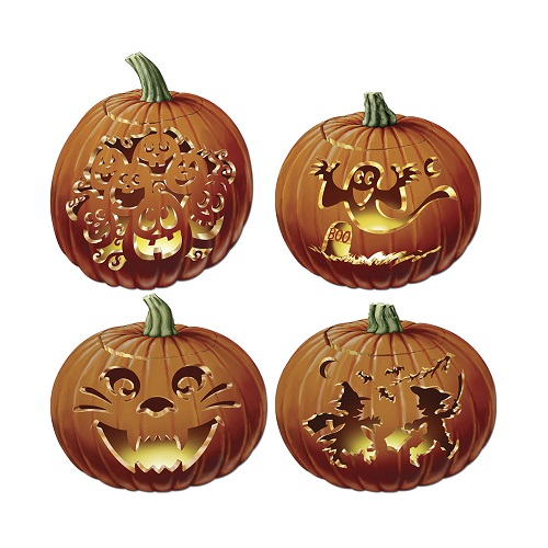 Carved Pumpkin Cutouts 14
