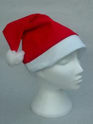 Santa Hat Red Felt Hat
