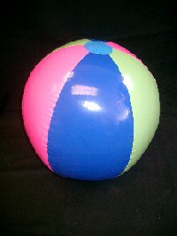Inflatable Beachball Large (approx 50cms)