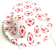 Mini Plastic Football Hats - 10