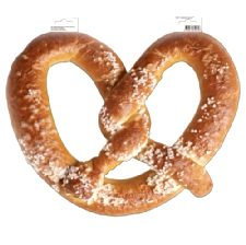 Giant Pretzel Decoration