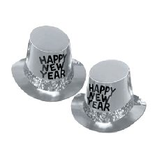Platinum Rush New Year Top Hat - 10