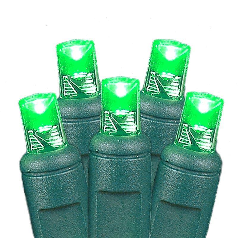 Christmas Net Lights Bushes Green