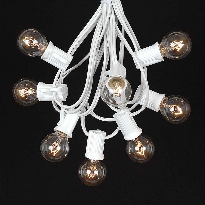 Clear Bulb String Lights