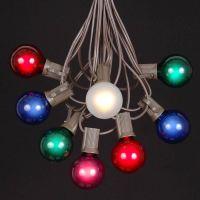 Multi Colored Outdoor String Lights Images - pixelmari.com